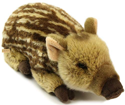 Zaloop Frischling ca. 29 cm Plüschtier Kuscheltier Stofftier Plüsch Wildschwein 169