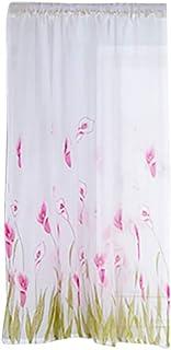 85水仙の花チュールトランペットホーンカーテンハンドルチュールは1布