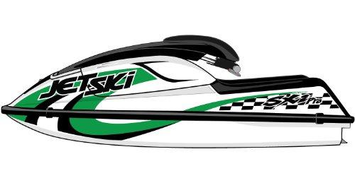 Kawasaki 750 SX / 750 SXI / SXi Pro Graphic Kit - EK0002SXi