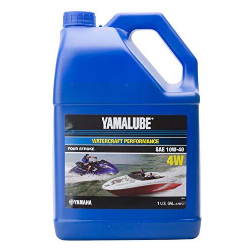 Yamaha New OEM WaveRunner Boat Oil Gallon 10W-40 4W WATERCRAFT LUB-10W40-WV-04
