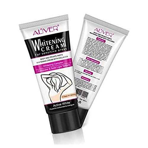 Whitening cream-Body and private parts whitening cream with collagen