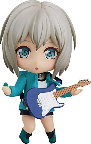 Good Smile Bang Dream! Girls Band Party: Moca Aoba (Stage Outfit Version) Nendoroid Action Figure, Multicolor
