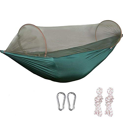 G4Free Portable Camping Hammock Net Hammock Tent Capacity 400 Pounds Outdoor Foldable Tree...