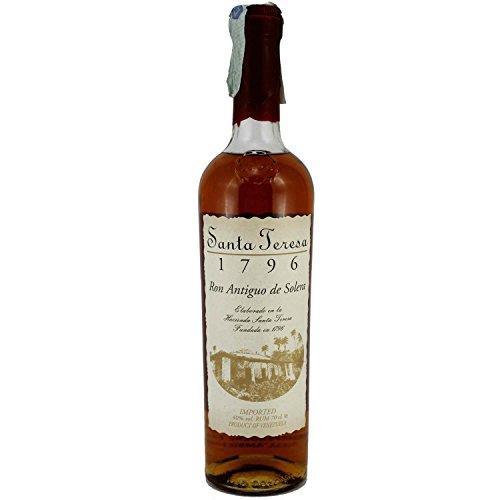 Rum Antiguo de Solera Santa Teresa 1796 40% 70 cl. Rhum