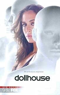 Dollhouse: New FOX Series: Echo Sexy Eliza Dushku: Great Original Photo Print Ad!