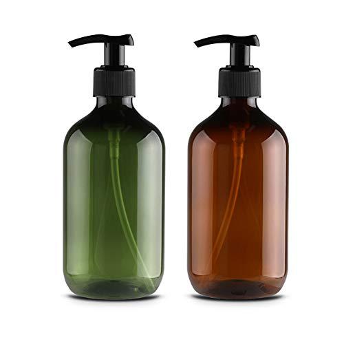 Kikier Shampoo-Flasche, Nahrungsergänzungsmittel, Shampoo, Flasche, rund, Schulterlotion, 300 ml, 4 Flaschen, Schwarz (Schwarz) - JJ0310928_BK-1254-1643367871