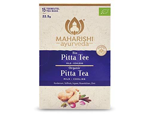 Maharishi Ayurveda Pitta Tee (Bio) Gewürztee, Chai, 15 Beutel, 22,5 g, ökologisch