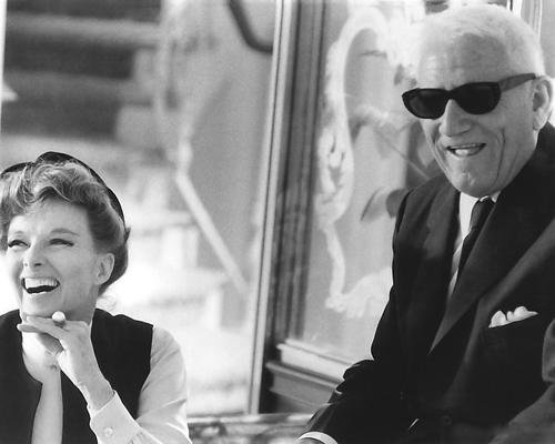 Guess Who 'S Coming To Dinner Katharine Hepburn Spencer Tracy in Sonnenbrille 10x 8Werbe Foto