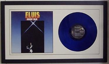 """Best Album Frame for 12"""" LP Vinyl Album and Album Sleeve Black Frame & White Matting Design Reviews"""