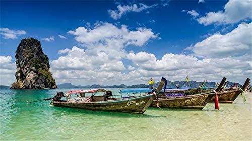 Rompecabezas Para Adultos Rompecabezas De Madera De 500 Piezas Krabi Tailandia Paisaje Muy Buen Juego Educativo