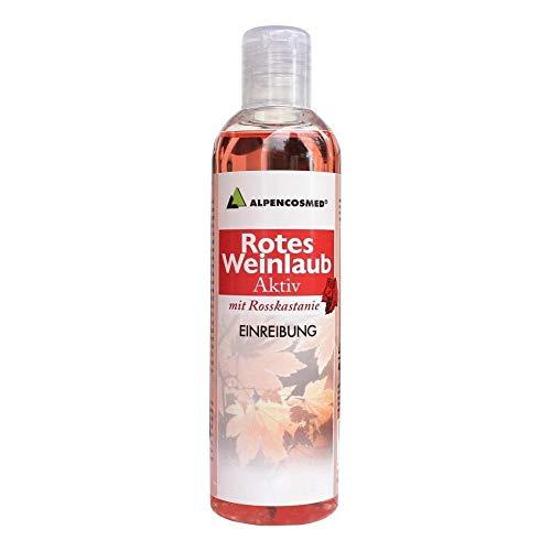 alpencosmed rotes weinlaub aktiv einreibung 250 ml