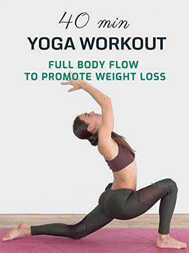 40 Min Yoga Workout - Full Body Flow To Promote Weight Loss - Gayatri Yoga