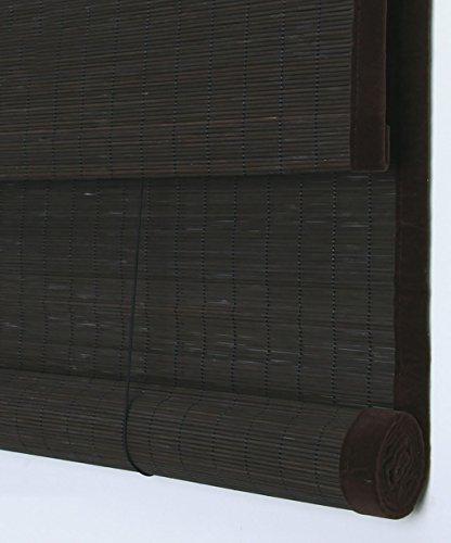 WUFENG Rideau de porte en bambou enroulable et moustiquaire pour balcon, salon, salle à thé (couleur : D, taille : 100 x 120 cm)