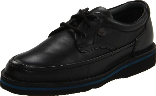 Hush Puppies Men's Mall Walker Oxford,Black Leather,9.5 M US