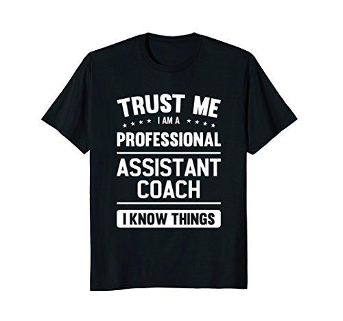 Assistant Coach T Shirt Gift Idea Professional Coaches