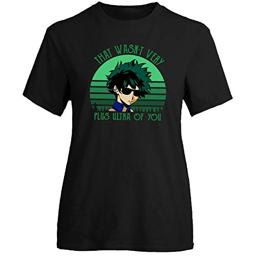 Peoria My Hero Academia Crew T-Shirt, Anime Short Sleeve T-Shirts for Men and Women(2XL Style 13)