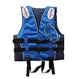 SNAL Chaleco Salvavidas Ajustable, Duradero, Desmontable, Conveniente, para Pesca, Chaleco Salvavidas, Chaleco de Pesca para niños Adultos, Chaqueta Flotante para Nadar, navegar al Aire Libre
