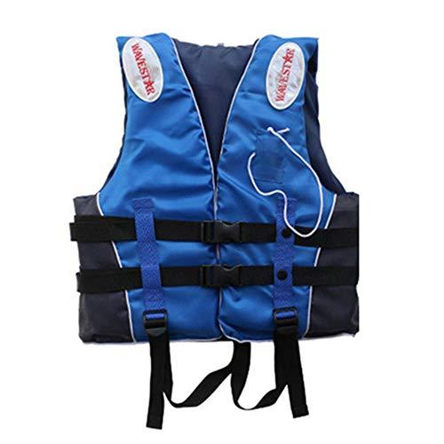 Ajing Chaleco Salvavidas para Adultos Chaleco de natación para niños, Chaleco Flotador con Silbato y Reflector Nocturno para Deportes acuáticos, Kayak, Remo, Tabla, Pesca, Surf, Rafting