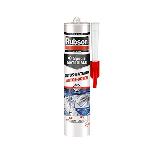 Rubson - Mastice per Auto e Barche, 280 ml, Colore: Nero