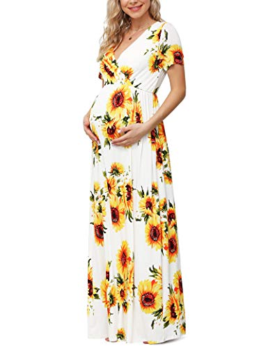 Xpenyo Women's Floral Maternity ...