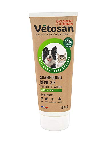Clément Thékan Vetosan Shampoo tegen honden en katten, 200 ml