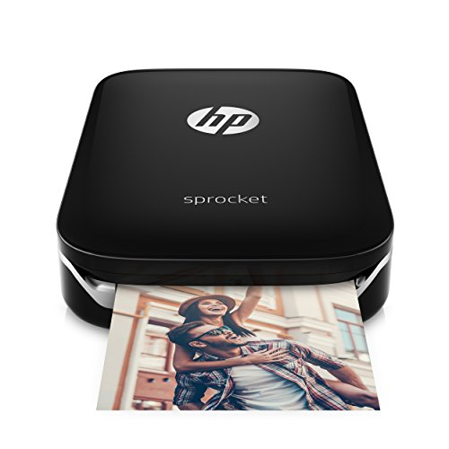 HP Sprocket Mobiele printer Fotoprinter 5 x 7,6 cm zwart
