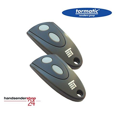 2 x Tormatic Novoferm Handsender MAX43-2 als Set - Funk Fernbedienung 433 MHz Novotron 502 als 2er-Set