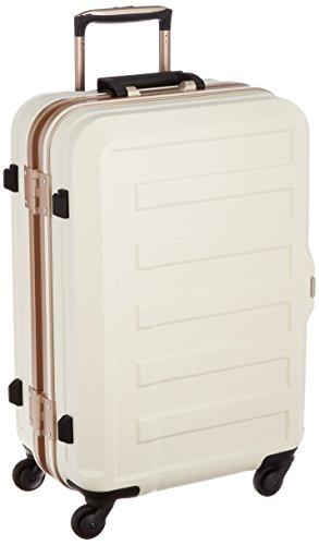 [レジェンドウォーカー] スーツケース フレーム ハードスーツケース 4輪 消音/静音キャスター 5088-55 保証付 47L 61 cm 4.1kg アイボリー