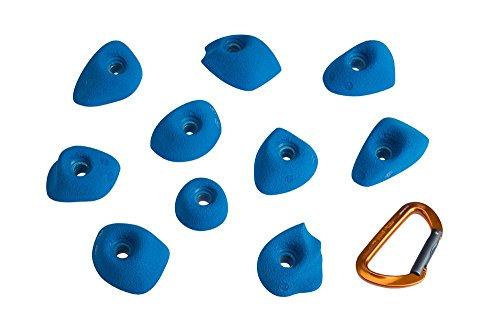 Entre Prises Klettergriffe Tac für Kinder, Farbe:grau
