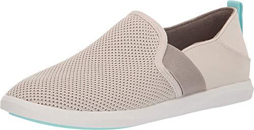 OLUKAI Women's Hale'iwa Pa'i Shoes, Tapa/Silt, 7.5 M US