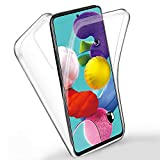 RKVMM 360 Degree Protection Phone Case, Silicone Clear