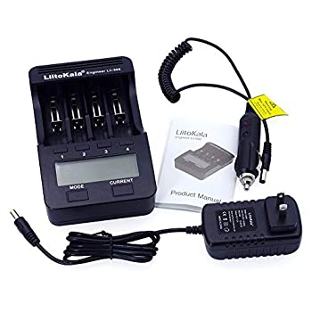 Accreate liitokala lii-500 LCD Display 18650/26650 Speedy Rechargeable Lithium Battery Charger US regulations