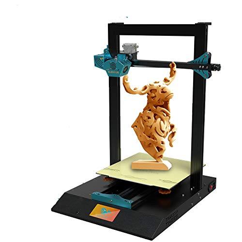 CIJK Impresora 5D, Silent Placa Base con Marco De Metal Uso Extrusora Capricornio Bowden PTFE Tubería Aumentar El Volumen, 405 × 505 × 646Mm