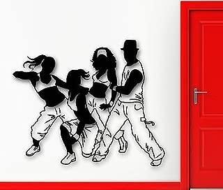 V-studios Wall Sticker Vinyl Decal Dance Hip Hop Fitness Sport Healthy Lifestyle VS1998