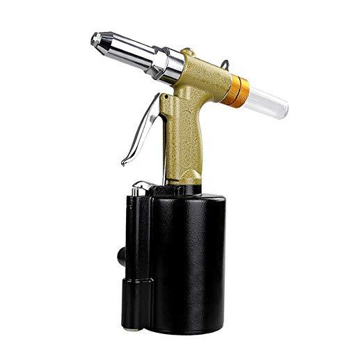 Pistolet à rivet pneumatique, outil à main de catégorie industrielle approprié aux rivets de gamme complète en aluminium/fer