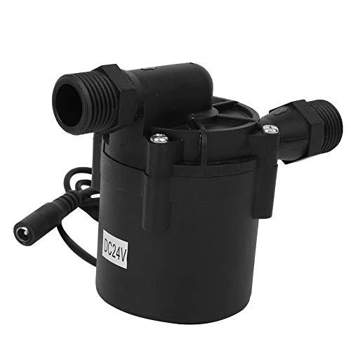 Wasserpumpe,DC Wasserpumpe G1/2 Zoll DC Bürstenlose Wasserpumpe Ultra leise Tauchpumpe DC24V 12m 1500L / h,Hochleistungs Bürstenpumpe ohne Bürsten,G1/2 DC Water Pump