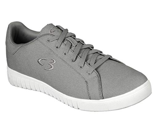 Concept 3 by Skechers Men#039s Issel Casual Sneaker Grey 75 Medium US