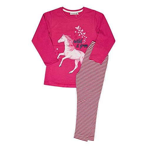 Salt & Pepper Mädchen 05123292 Pyjamaset, Winter Rose, 104/110