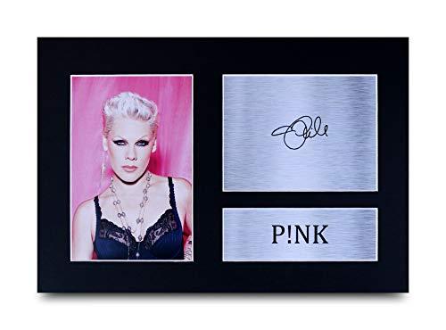 HWC Trading Pink A4 Ungerahmt Signiert Gedruckt Autogramme Bild Druck-Fotoanzeige Geschenk Für Musik-Fans