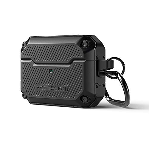 VRS Design Active Fit for Apple Airpods Pro Case (2019) Black