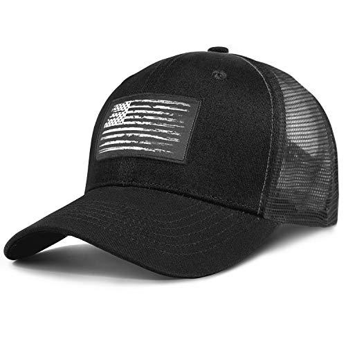American Flag Trucker Hats - Patriot Tactical Hats for Men - Outdoor Snapback Pride Flag Baseball Caps