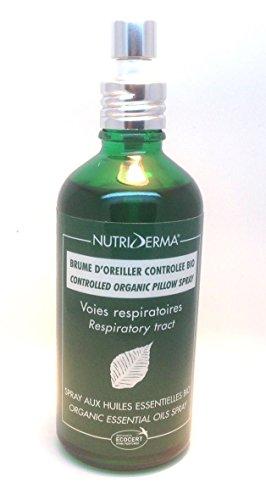 Various 100 ml Nutri Derma Organic Respiratory Pillow Spray
