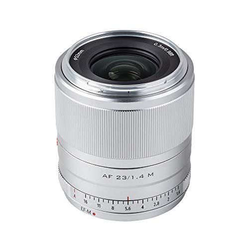 Viltrox 23mm F1.4 STM オートフォーカス 大口径APS-Cレンズ Canon EOS-Mマウント交換レンズ M10/M100/M3/M5/M50/M6/M60 IIなどのカメラに適用 (23mm F1.4)