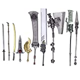 Square-Enix Nier Automata Bring Arts Weapon Collection 10-Pack Action Figures