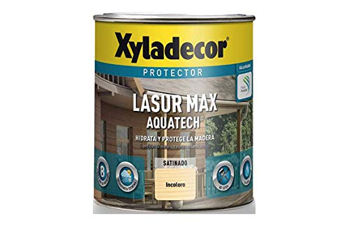 XYLADECOR LASUR EXTRA AQUATECH SATINADO NOGAL 2,5 Lts.