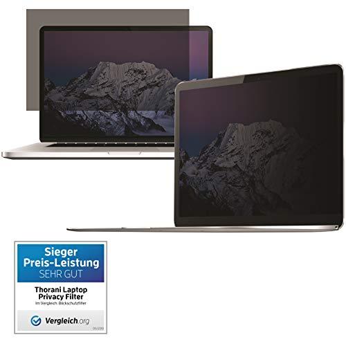 Thorani Privacy Filter I Blickschutz Folie I Sichtschutzfolie - kompatibel mit Apple MacBook Pro Touchbar 15 Zoll