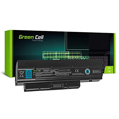 Green Cell Standard Serie PA3820U-1BRS PA3821U-1BRS Laptop Akku für Toshiba Mini NB500 NB505 NB520 NB550 NB550d (6 Zellen 4400mAh 11.1V Schwarz)