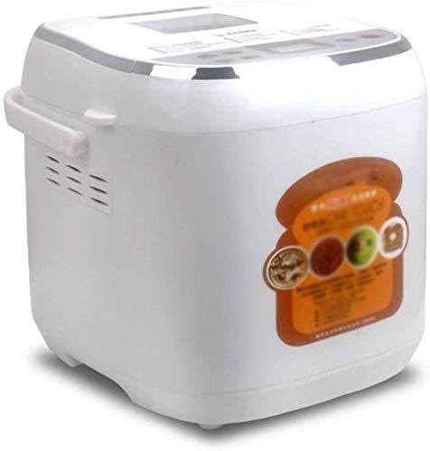 ALYR automáticos Panificadora, Panificadoras Incluye Libro de Recetas Programable Multifuncional Yogurt Fermentación Cake Maker para Principiante Friendly,A