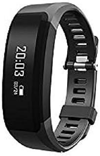 Fitness Tracker HR,–Póster enmarcado (Warrior® Bestia actividad Tracker reloj con pulsómetro para iOS y Android | pantalla táctil portátil Smart pulsera de deportes y seguimiento de la salud–negro
