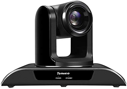 Tenveo VHD20N   20x Optischer Zoom USB-HDMI-SDI Konferenzkamera, 1080p Full-HD Weitwinkel PTZ Webcam, für Live Streaming, Videokonferenz